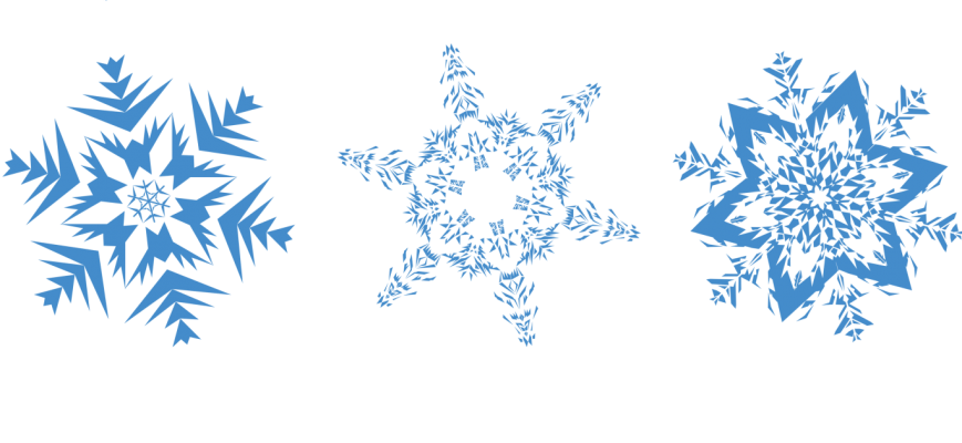 Snowflakes Image PNG Image