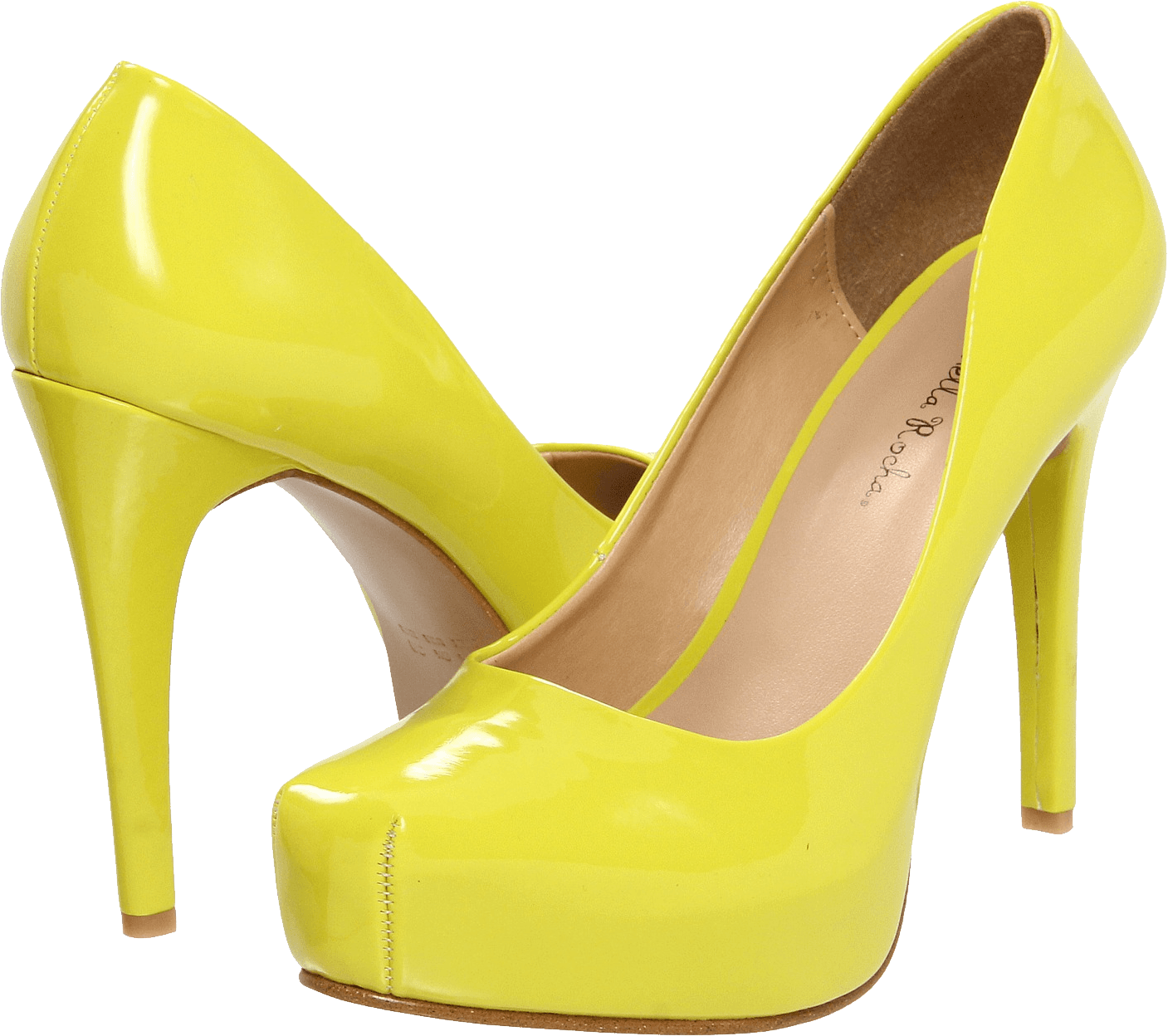 Yellow Women Shoes Png Image PNG Image