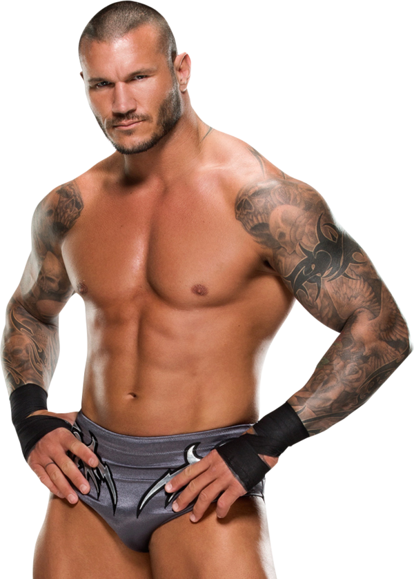Randy Orton Transparent Background PNG Image