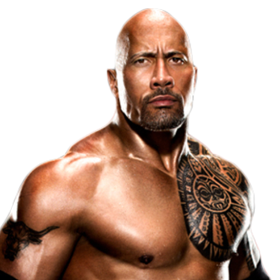 The Rock Photo PNG Image