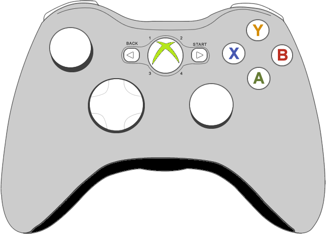 Xbox Controller Hd PNG Image