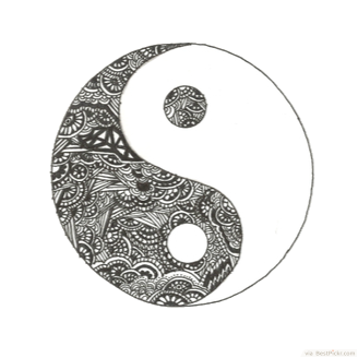 Yin-Yang Tattoos Png Picture PNG Image