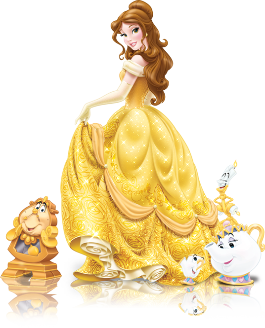 Walt Belle Company Beast The Princess Disney PNG Image