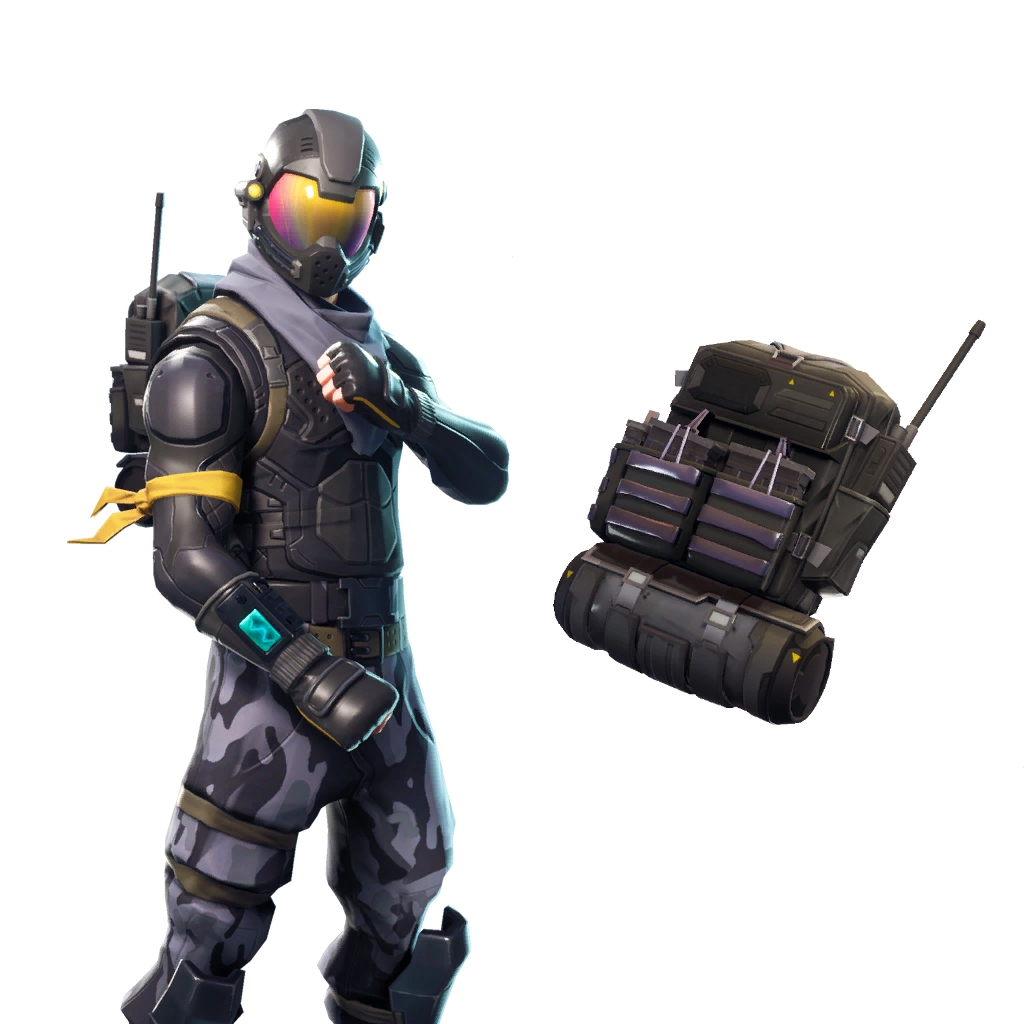 Toy Soldier Agent Royale Rogue Fortnite Goldeneye PNG Image