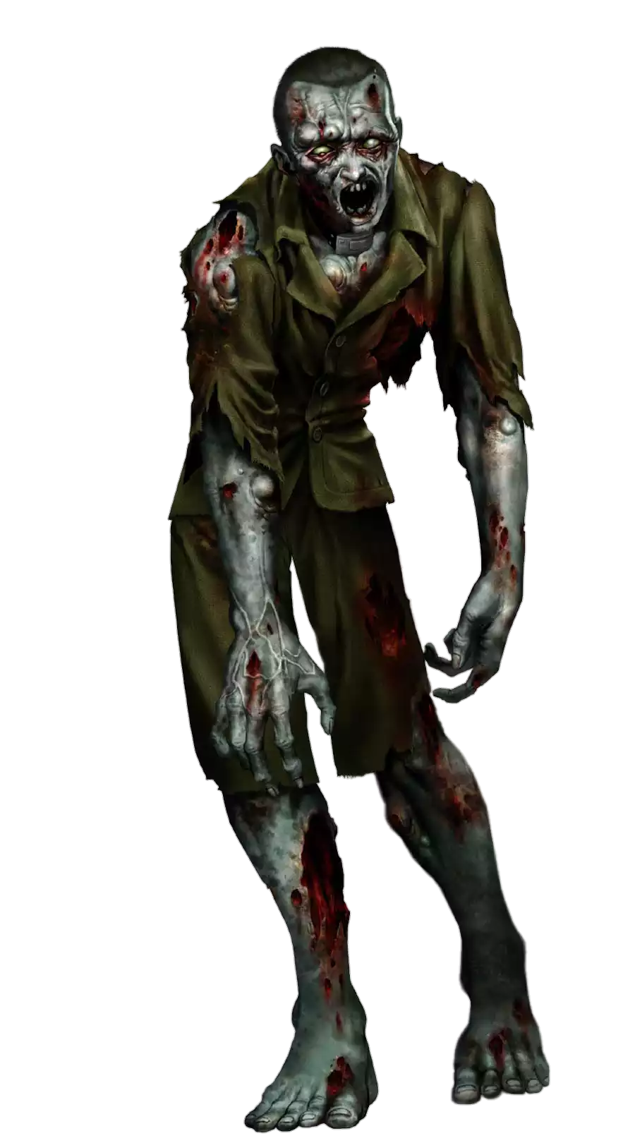 Zombie High-Quality Png PNG Image